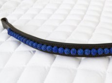 Selection Browbands Crystals Balls - Blue